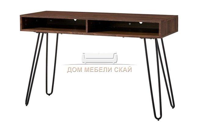 Письменный cтол D-003, орех/матовый черный - купить за 9600 руб. в Санкт-Петербурге (арт. B10015105)   Дом мебели Скай