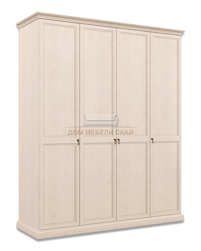 Шкаф Венеция 4-дверный без зеркала ВНШ2/4, дуб седан - купить за 40800 руб. в Санкт-Петербурге (арт. B10002214)   Дом мебели Скай