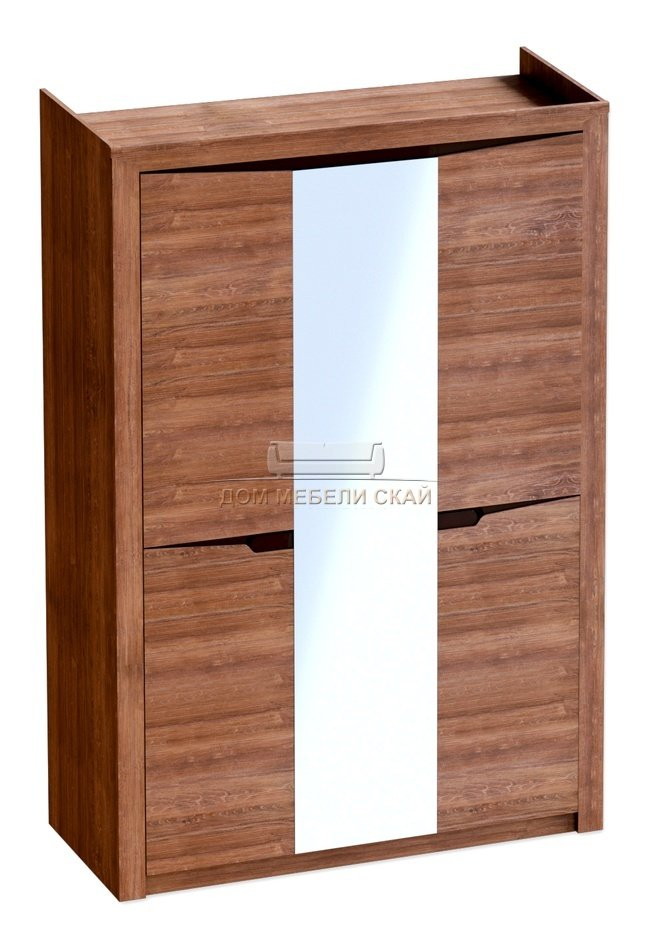Шкаф 3-дверный Соренто с зеркалом, дуб стирлинг - купить за 18090 руб. в Санкт-Петербурге (арт. B10003196) | Дом мебели Скай