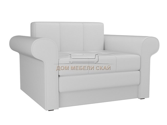 Кресло-кровать Берли, белое/экокожа - купить за 18300 руб. в Санкт-Петербурге (арт. B10027450) | Дом мебели Скай